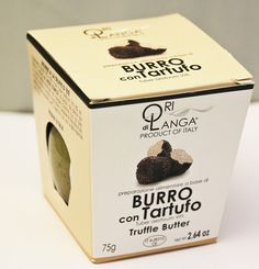 RARE EXOTIC ORI DI LANGA BLACK TRUFFLE BUTTER BURRO TARTUFO JAR 2.64 Oz. ITALY #ORIDILANGA