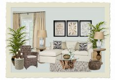 Check out this moodboard created on Brogan: Gwen's Colorful Coastal Living by twigbytwig Coastal Homes, Coastal Living, Coastal Decor, Interior Styling, Interior Design, Outdoor Furniture Sets, Outdoor Decor, Cheryl, Master Bedroom