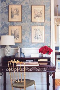 28 pretty wallpaper ideas to try in your home