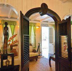 creole style interior