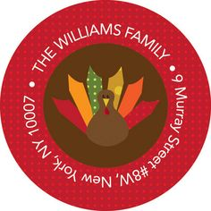 Bold Turkey Address Labels