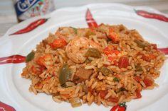 Holiday Shrimp and Crawfish Jambalaya Recipe - New Orleans Party Dish
