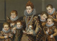 Lavinia Fontana - NOBILIS FAMILIA DE MASELLIS ROMANA, c1604