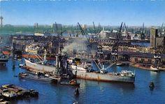 Rijnhaven Rotterdam (1960-1970)