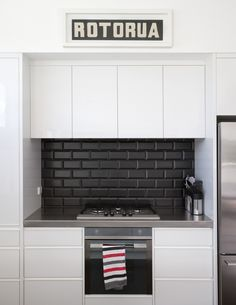 When Pictures Inspired Me #105 Kitchen Pinterest Black Subway