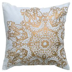 Parker Pillow - Make it Metallic