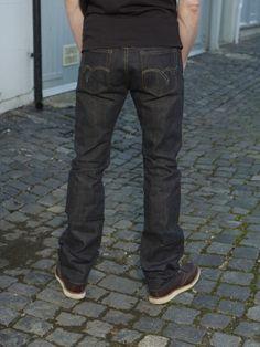 Japanese Selvedge Denim, Japanese Denim, Raw Denim, Denim Jeans Men, Number 8, Double Chain, Flat Head, Indigo, Menswear