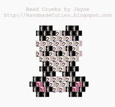Free Mini Panda Pattern with Miyuki Delica (TM) Seed Beads - Handmade Cuties