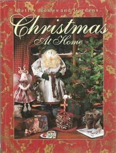 Better Homes & Gardens Christmas At Home Crafts Book