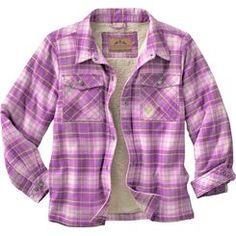 Classic Bluer Plaid - Duluth Trading Co Men's Flapjack Fleece ... : quilted lined flannel shirt - Adamdwight.com