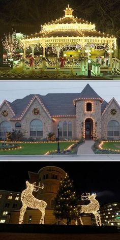 Hire the Christmas light installers from DFW Lights if you are looking for insured and experienced professionals who will make your holidays shine. They also perform other decorating services.