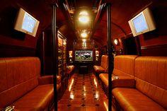 Airstream Mobile Cigar Lounge - Extreme Glamping!