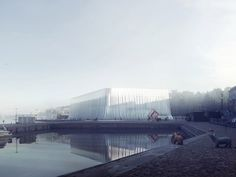 6 Finalists Revealed in Guggenheim Helsinki Competition,Finalist: Image Courtesy of Malcolm Reading Consultants Architecture Visualization, Concept Architecture, Architecture Design, Architecture Illustrations, 3d Visualization, Helsinki Design, Nordic Lights, Cultural, Design Competitions