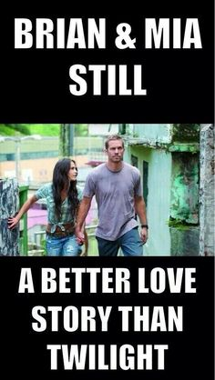 Fast and furious paul walker and never compare to twilight Fast And Furious, The Furious, Beau Film, Fast Sports Cars, Fast Cars, Best Love Stories, Love Story, I Dont Have Friends, Dominic Toretto