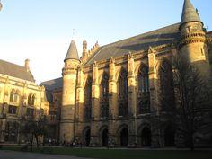 University of Glasgow west quad.