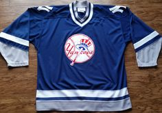53aebfded52 New York Yankees Starter Jersey Vintage MLB Baseball Rare Navy NY Jeter  Mens XL World Series