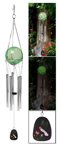 Hummingbird Glow-in-the-Dark Wind Chime at The Animal Rescue Site