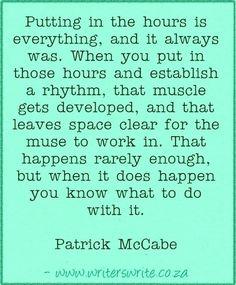 Quotable - Patrick McCabe - Writers Write Creative Blog