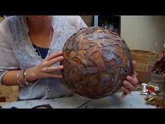 Blomsterværkstedet laver vase lavet i syre - YouTube