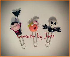 #pastaflexible #Halloween #clips #separadores www.facebook.com/CreArtebyJess