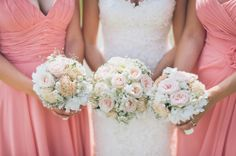 bridesmaids dress bouquet wedding