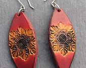 Handmade Leather Earrings by Beara Belts West Cork, Cork Ireland, Leather Earrings, Handmade Leather, Belts, Diy Ideas, Drop Earrings, Trending Outfits, Unique Jewelry