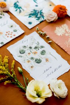 Illustrated Wedding Invitations, Spring Wedding Invitations, Destination Wedding Invitations, Watercolor Wedding Invitations, Custom Wedding Invitations, Wedding Stationery, Stationery Design, Flower Invitation, Invitation Cards