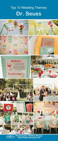 Top Unique Wedding Themes: Dr. Seuss Inspired