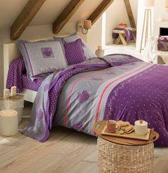 Linge de lit en flanelle Chouette douceur