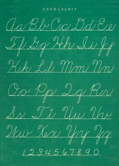 Cavallini & Co. Chalkboard Penmanship Chart Decorative Decoupage Poster Wrapping Paper Sheet:Amazon