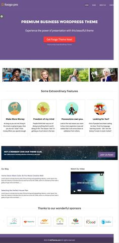 Foogo PRO - Simple #WordPress Theme #SEO Optimized For #Business Growth by www.wpchats.com