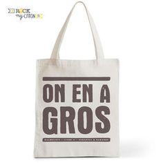 Tote Bag Rock my Citron, On En A Gros, Perceval, Kaamelott, Cadeaux Fêtes, Anniversaires
