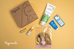 🧘This month we are focusing on mindfulness. The May Beauty Box boasts 5 lovely #cruelty-free, #vegan products to help you RELAX & REVIVE.   Purchasing this box you support 🐐Lolli, the adorable goat @thegentlebarn 🙏  May Beauty Box: Mahina Beaute's Turn on the Light Face Serum⠀ DermaE's Therapeutic Shea Body Lotion, fragrance-free ⠀ sfGlow's Pore-Fect Strip⠀ Dr Botanicals Cocoa & Coconut Superfood Reviving Hydrating Mask⠀ Crazy Rumors Lip Balm in 1 of 3- Pina Colada, French Vanilla, Honeycomb⠀