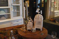 kaarsenhouders ! #interieur #interoir #white #candles #wood #hout #meubelsenmeer #mijdrecht #cabinet