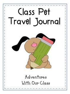 Having a class pet is a great way to build community and bring families into the classroom. Our class pet is a stuffed dog named Oscar. He lives in our home center and each weekend a new student gets to take him home and write about their adventures in the journal.