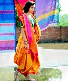 Silk cotton handloom