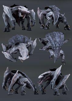 ArtStation - Titan (Evolve) wildlife, Jason Hasenauer