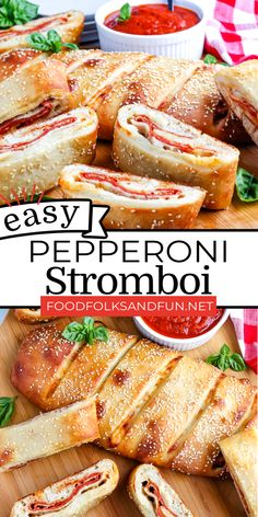 You can make this Stromboli recipe as a main dish, appetizer, or the perfect game day snack! For more easy appetizer recipes follow Food Folks and Fun!