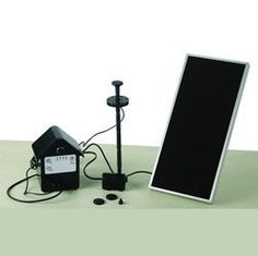 3 Watt Solar Powered Water Pump Monocrystalline Solar Panel by Garden. $95.99. 3 Watt Solar Powered Water Pump Monocrystalline Solar Panel  Monocrystalline solar panels are one the most efficient commercially viable photovoltaic solar collectors.  Sun Powered  No Wiring  Powered by the sun  Fast & easy install  Energy, electrical saving  Recharged by solar panel under sunlight  CE certified  This solar powered water pump is designed for fountains, ponds or other o...