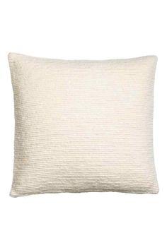 Textured cushion cover   H&M