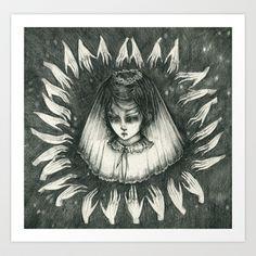 Sweetheart Come II Art Print by Liza Corbett - $15.00