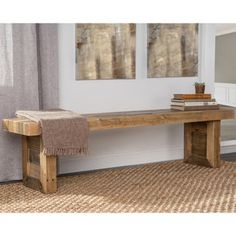 Kosas Home Handcrafted Oscar Natural Recovered Shipping Pallets 71-inch Bench - 18682071 - Overstock.com Shopping - Great Deals on Kosas Collections Dining Chairs