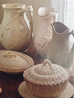 Glazed Pottery, Glazes For Pottery, White Dinnerware, White Dishes, White China, Glass Collection, Bakeware, Fruits And Vegetables, Milk Glass