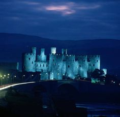 Conwy Castle, Part of North Wales - wow!