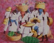 Galerie d'art haitien Vente de tableaux de Maîtres naïfs haïtiens, art naïf, art haïtien