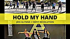 It's the perfect partner song with the perfect message! We all want to walk through life with a hand to hold, right? (Don't worry--if you're a germ-a-phobe, . Dance Moves, Cardio Dance, Dance Workouts, Refit Revolution, Hand Dancing, Jess Glynne, Zumba Routines, Dance It Out, Dance Fitness