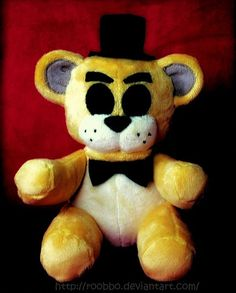 Five Nights At Freddy's  Golden Freddy  Plush by Roobbo on Etsy