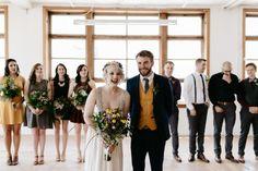 Cute wedding party shot by Wolf 'N Fox Photography