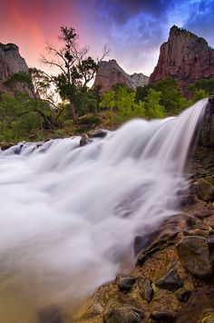 Sunset - Zion National Park, Utah  http://www.acmnp.com/employment/zion-national-park-jobs