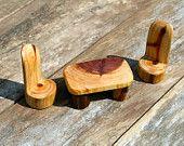Miniature Furniture / Fairy Garden Table set
